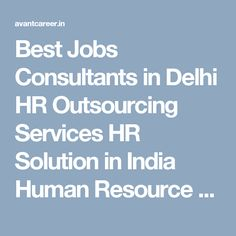 Best Jobs Consultants in Delhi HR Outsourcing Services HR Solution in India Human Resource Services Job Search and Recruitment Agency Top HR Consultancy in Delhi Front Office Manager Jobs