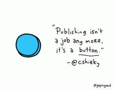 """Another """"yup"""" from Hugh MacLeod (@gapingvoid) and Clay Shirky."""