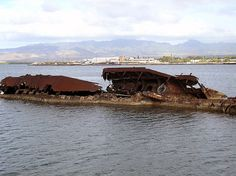 One of the more forgotten ships from the Pearl Harbor attacks, the USS Utah is on the opposite side of Ford Island on Oahu. Remember Pearl Harbor, Pearl Harbor Attack, Home Of The Brave, Land Of The Free, December 7, Navy Ships, Shipwreck, American Pride, Aircraft Carrier