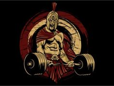 Spartan Gym Tshirt DesignOrganized Layer, Easy for change color and add text, file (adobe illustrator illustrator CS Eps and Png Transparent Background), this design can be used for screen printing and direct to garment. Spartan Gym, Spartan Warrior, Apollo Mythology, Greek Mythology, Dojo, Art Of War Quotes, Gorilla Tattoo, Bodybuilding Pictures, Gym Logo