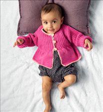 Breipatroon en haakpatroon Vest, uit Phildar nr 120 babys en kinderen voorjaar 2015.