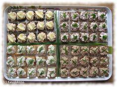 Lohi-, poro-, katkarapu- ja tonnikalasuupalat Cocktail-lajitelma kuuluu meillä usein juhlapöydän suolaiseen osastoon. Appetizer Recipes, Appetizers, Finnish Recipes, Cocktail Party Food, Food Festival, Sweet And Salty, Nom Nom, Food And Drink, Cocktails