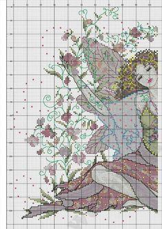 Sweet Pea Fairy - 5/5 PUNTADITAS (pág. 23) | Aprender manualidades es facilisimo.com