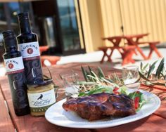 BBQ Country Ribs made with Lucero's Wild Cherry Balsamic Vinegar. Impress your friends and family with this easy, scrumptious rib recipe! Come on down to Made in Chico to stock up on Lucero's Wild Cherry Balsamic Vinegar today! 530-894-7009  madeinchicostore.com