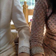 Matching Borders via #CTCWest, Woodbridge, Ontario, Nr Toronto   http://www.ctcwest.ca/ https://twitter.com/ctcwest   #South_Asian, #Desi Bridal & Formal Wear  