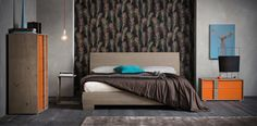 Victor #letto #bed #letto in legno #wooden bed