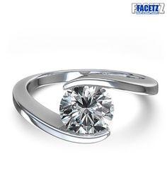 Facetz Endearing Real Diamond Ring