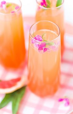 Citrus Champagne Punch Fun Tailsparty Drinkstail Drinksspirit Drinkbest