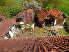 Mein Innenhof vor der 2ten Sanierung im April 2015