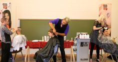 Alumni Design Team At Robinson Beauty Show, Southern, IL
