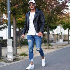 """724 Me gusta, 4 comentarios - Moda Para Homens (@modamasculinadicas) en Instagram: """"Style 💥 _ _ _ #streetstyle #moda #modamasculina #vans #menscuts #homem #homensdebarba #homens…"""""""