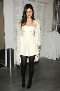 Image result for carine roitfeld grey outfit