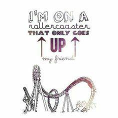 I'm on a rollercoaster that only goes up. - A culpa é das estrelas