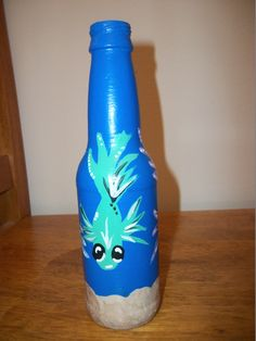 fish on a bottle
