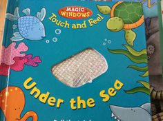 Excellent sensory touch and feel book.