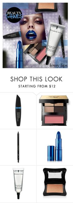 """""""Beauty Shines: Glossy Lips"""" by stacey-lynne ❤ liked on Polyvore featuring beauty, Max Factor, Bobbi Brown Cosmetics, Gucci, Lipstick Queen, Elizabeth Arden and Illamasqua"""
