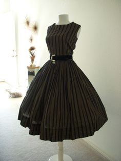Fabulous Vintage 50s Rockabilly Swing Dress and Bolero Size Small to Medium  (estimated) 7974467b51e