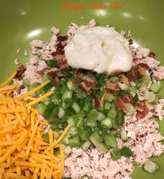 Copycat Sassy Scotty Ranch Chicken Salad – Tampa Cake Girl Do you choose canned food stuff or dry food items? Green Veggies, Fresh Vegetables, 21 Day Fix, Chicken Salad Recipes, Chicken Salads, Meal Salads, Avocado Chicken, Canned Chicken, Chicken Fajitas