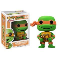 Teenage Mutant Ninja Turtles POP! Vinyl Figur Michelangelo 10 cm