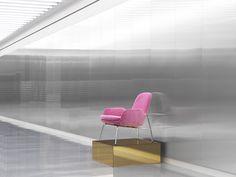 The Era Lounge Chair displayed in the Normann Copenhagen showroom in Copenhagen.