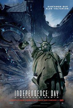 Um filme de Roland Emmerich com Liam Hemsworth, Jeff Goldblum, Bill Pullman, Jessie Usher. Após o devastador ataque alienígena ocorrido em 1996, todas as nações da Terra se uniram para combater os extra-terrestres, caso eles retornassem. Par...