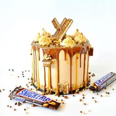 Sprinkle Me. Layers of chocolate cake filled with #nought and #saltedcaramel topped with salted caramel buttercream more nought more salted caramel and milk chocolate drip! A #snickerscake indeed!