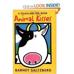 Animal Kisses (Board Book) by  Barney Saltzberg