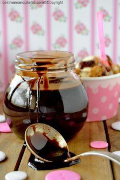 sauce au chocolat pour glace