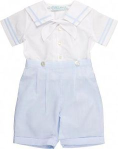 Our baby boy clothes & baby outfits are really adorable. Christening Outfit, Christening Gowns, Baby Boy Fashion, Kids Fashion, Fashion Check, Couture Bb, Sailor Shorts, Baby Layette, Boy Newborn
