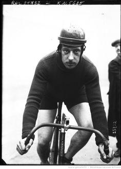 Parent [portrait du coureur cycliste sur son vélo] : [photographie de presse] / [Agence Rol] | Gallica