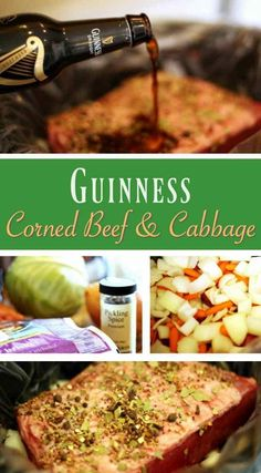 Patrick's Day Guinness Corned Beef and Cabbage Recipe patricks day dinner ideas corned beef recipes Crock Pot Guinness Corned Beef & Cabbage Recipe Cornbeef And Cabbage Crockpot, Crockpot Cabbage Recipes, Vegetarian Crockpot Recipes, Corned Beef Recipes, Corn Beef And Cabbage, Healthy Chicken Recipes, Corned Beef And Cabbage Recipe With Beer, Best Corn Beef Brisket Recipe, Recipe Chicken
