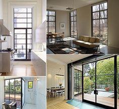 Steel Window/Door Resources.  The ever resourceful Julie from Remodelista did a great post about steel door and window fabricators.
