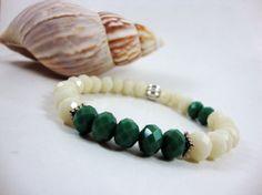 FREE SHIPPING-Unisex Beaded BraceletMen bracelet by SmyrnaJewelry