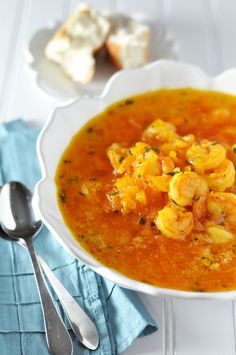 Shrimp Mozambique: Steeped in Tradition, Garlic and Beer — Savor The Thyme - Food, Family and Lifestyle looks so good!!!