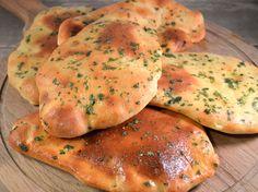 Naanbrood zelf maken recept #naan #recept #naanbrood #bakken
