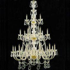 Traditional Crystal 21 Light Italian Crystal Chandelier : 2DLVN | Annapolis Lighting