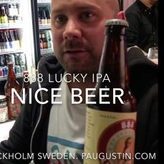 At Stockholm Sweden International Beer & Whisky festival many craftbeer lovers said 888 LUCKY Beer or 888 LUCKY IPA was the best one   learn more at http://ift.tt/2dZvGkD  888 Craft Beers Global  Tours: 1st #Taipei Taiwan ; 2nd Shanghai China ; 3rd Chongqing China; 4th Costa Rica ; 5th London England ; 6th Stockholm Sweden ; 7th Berlin Germany ; 8th Mexico City Mexico  (Nov. 4-6); 9th Nuremberg Germany (Nov. 8-10); 10th Tokyo Japan  (Nov. 19-20); #Taipei #WashingtonDC  #Tokyo #London…
