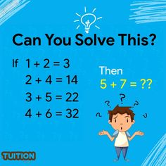 Home Tutors, Brain Teasers, Have Some Fun, Teacher, How To Get, Let It Be, Math, Mind Games, Professor