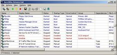 ServiWin 1.71 32bit ServiWin utility displays the list of installed drivers and services on your system. For some of them, additional useful information is displayed: file description, version, product name, company that created the driver file, and more. #computers #software #freeware #opensource