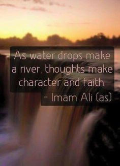 So adjust your thoughts to correct your character. Religious Quotes, Islamic Quotes, Islam Hadith, Alhamdulillah, Best Quotes, Life Quotes, Imam Ali Quotes, Love In Islam, Beautiful Prayers