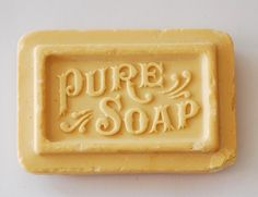 Antique advertising soap bar...I remember soaps like this at my Grandma's house...sweet memories to cherish...