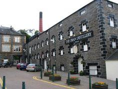 Oban Scotch Whiskey Distillery, Oban, Scotland - Tour with friends
