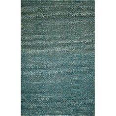 Momeni Downtown Hand-Woven Blue Area Rug Rug Size: 8' x 10'