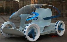 Element, Liviu Tudoran, Electric Cars, Futuristic Vehicle