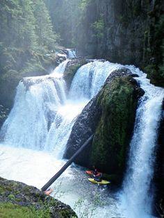 Frustration Falls, Salmon R gorge, OR