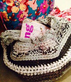 Revistero con totora, jajaja!!! Más lugar!! Crochet  Totora Amor al arte