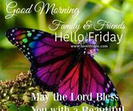 Good Morning Family & Friends, Hello Friday