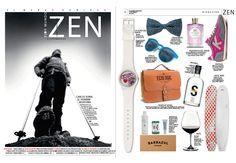 El maletín ecológico Kibo de la colección Ecologic de broch&broch en la revista Zen. #modaecológica #cueroreciclado