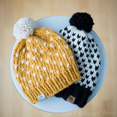 Links on how to learn to work the Fair Isle, and Links to patterns that are not free. knit hat Knitted Fair Isle Hats - All About Ami Knitting Designs, Knitting Patterns Free, Free Knitting, Knitting Projects, Crochet Projects, Crochet Patterns, Hat Patterns, Free Pattern, Knitting Ideas