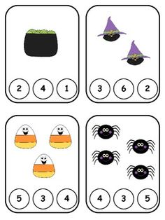 Here is a great math center or independent activity where students can practice counting up to 10 and identifying corresponding numbers. Included in this download are 10 cards. Each card has a set of pictures on it. Students have count the pictures and identify the number of pictures by clipping a clothespin on the correct number. I hope your kiddos enjoy this fun math center activity!